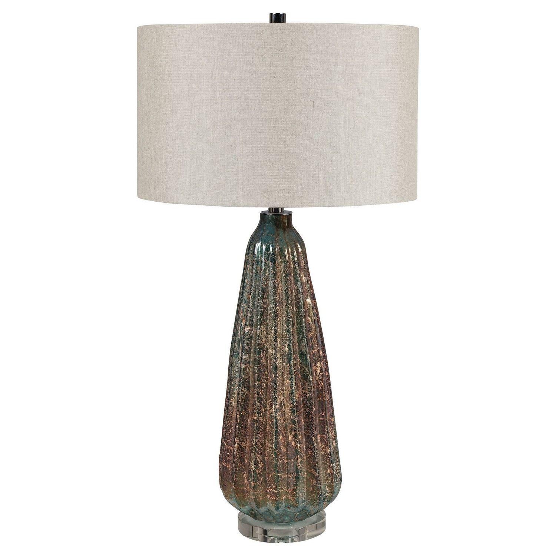 Uttermost Mondrian Table Lamp - Rust