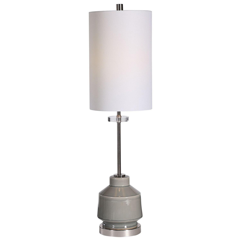 Porter Buffet Lamp - Warm Gray