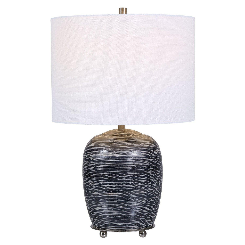 Transpose Table Lamp - Satin Black