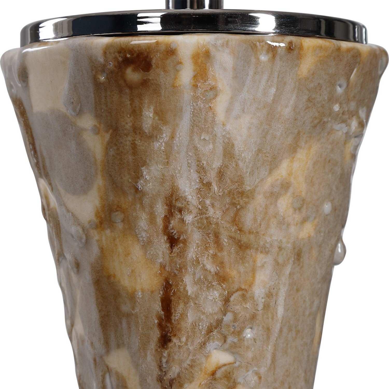 Uttermost Limerick Table Lamp - Rust