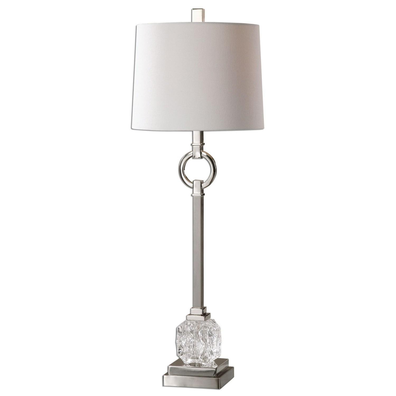 Uttermost Bordolano Buffet Lamp - Polished Nickel