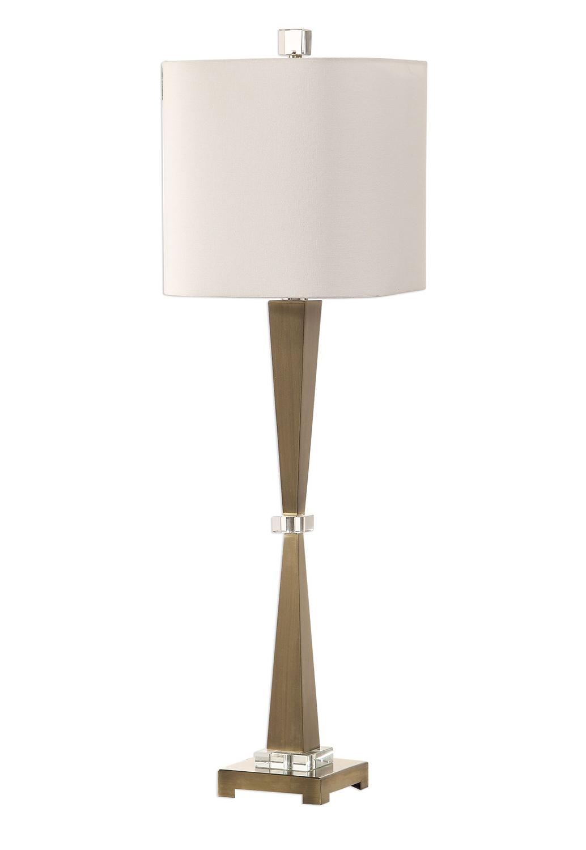 Uttermost Niccolai Lamp - Antiqued Nickel