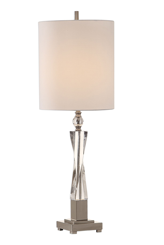 Uttermost Twyla Twisted Crystal Lamp