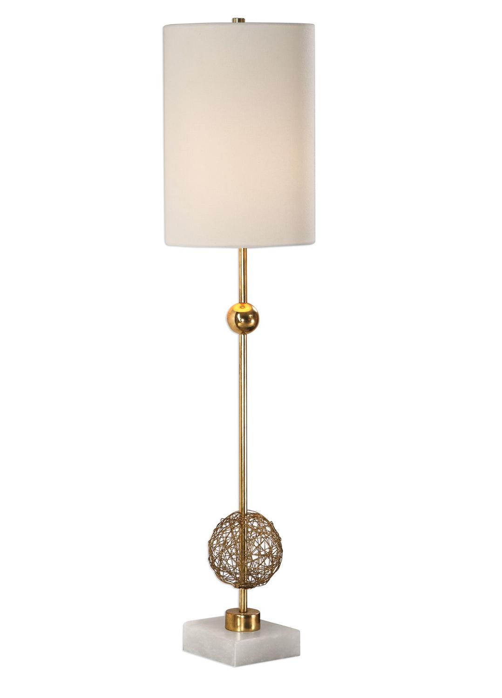 Uttermost Breckyn Buffet Lamp - Gold