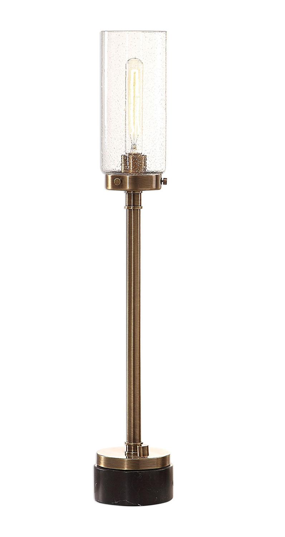 Uttermost Selane Glass Hurricane Lamp