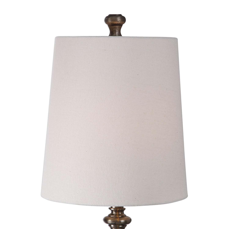Uttermost Delilah Steel Buffet Lamp
