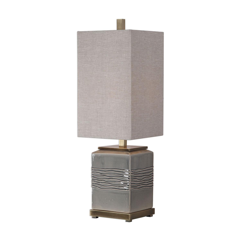 Uttermost Covey Buffet Lamp - Gray Glaze