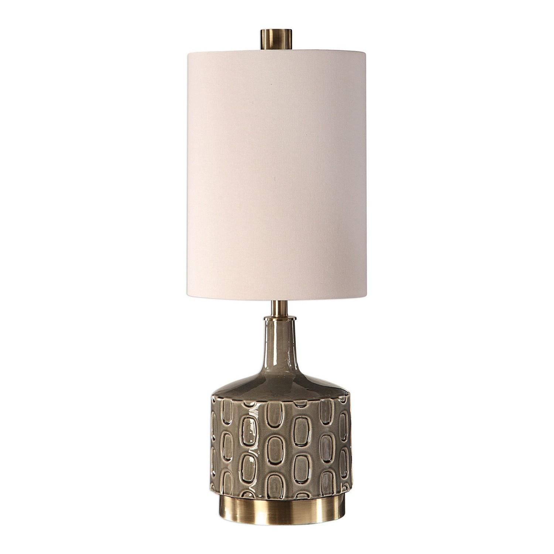 Uttermost Darrin Table Lamp - Gray
