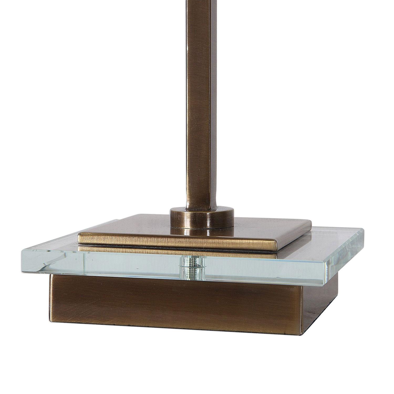 Uttermost Volante Table Lamp - Antique Brass