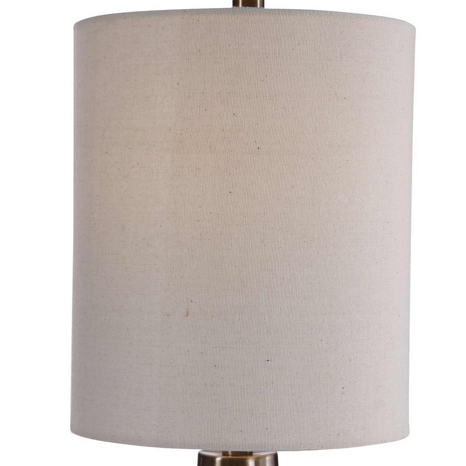 Uttermost Vionnet Glass Buffet Lamp