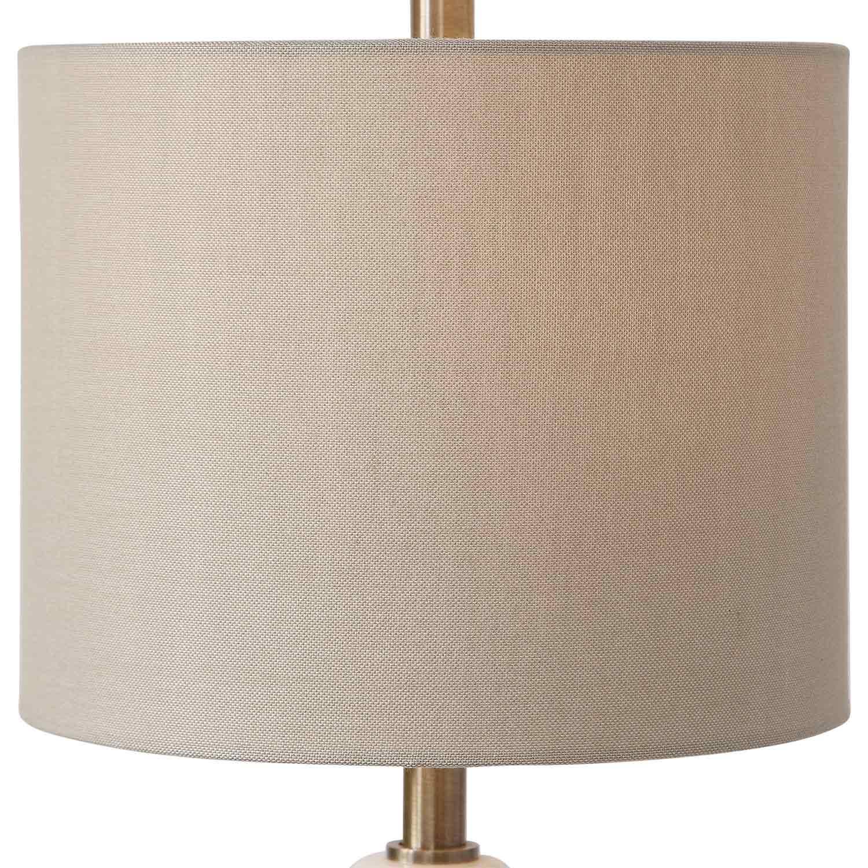 Uttermost Natania Buffet Lamp - Plated Brass