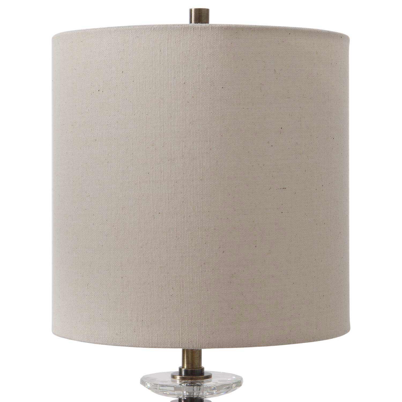 Uttermost Parnell Industrial Buffet Lamp