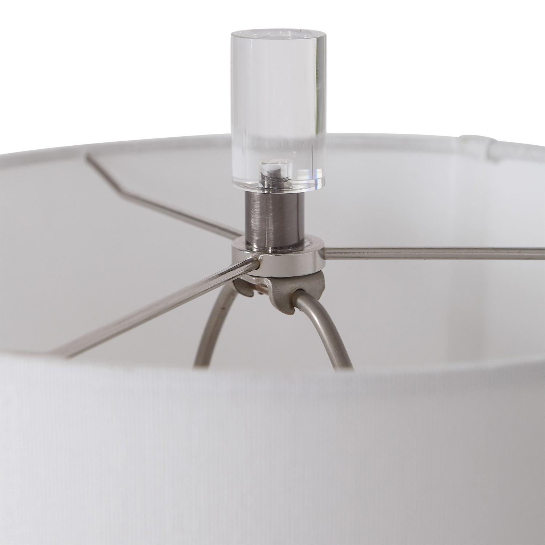 Uttermost Rana Buffet Lamp - Silver