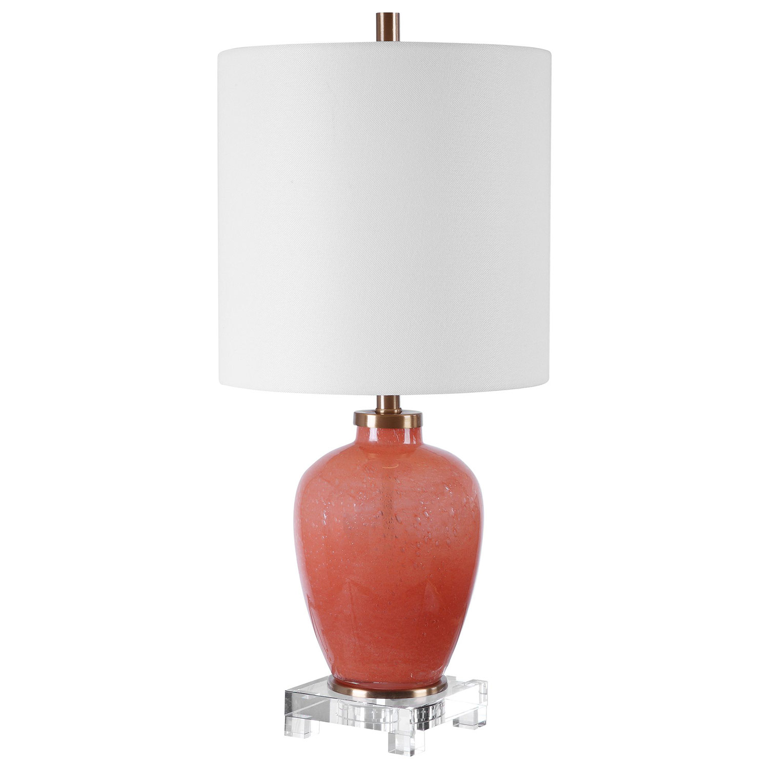 Uttermost Dominica Coral Accent Lamp