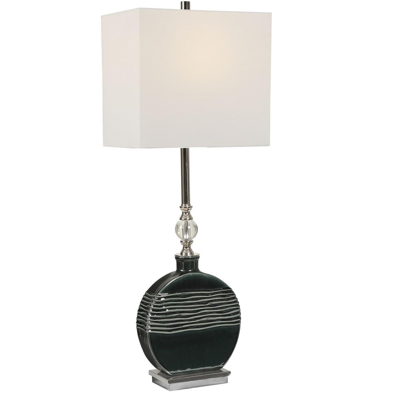 Uttermost Recina Buffet Lamp - Dark Teal