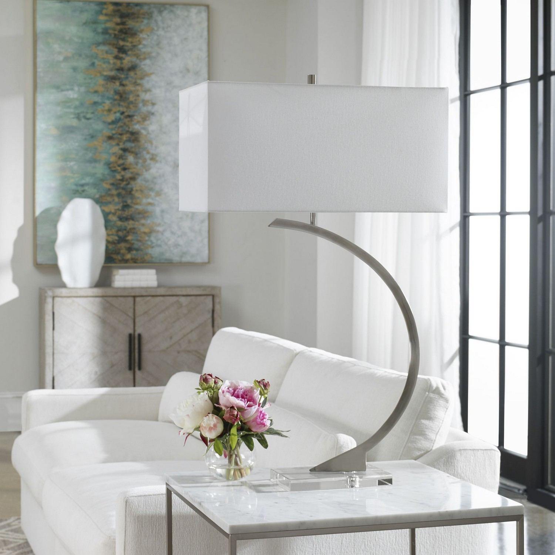 Uttermost Arrow Modern Table Lamp