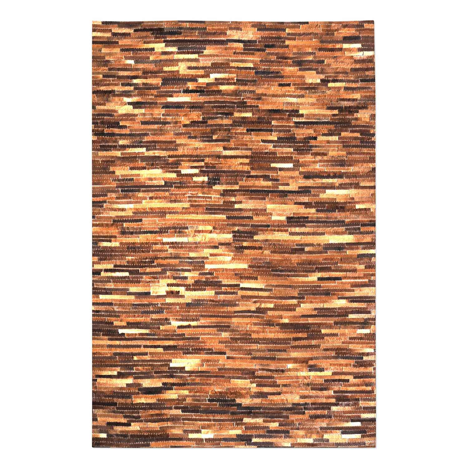 Uttermost Tiago 5 x 8 Rug - Medium Brown