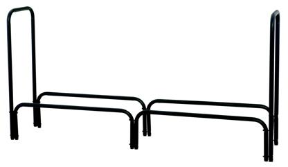 UniFlame Black 60 Inch Long Log Rack-Uniflame W-1560