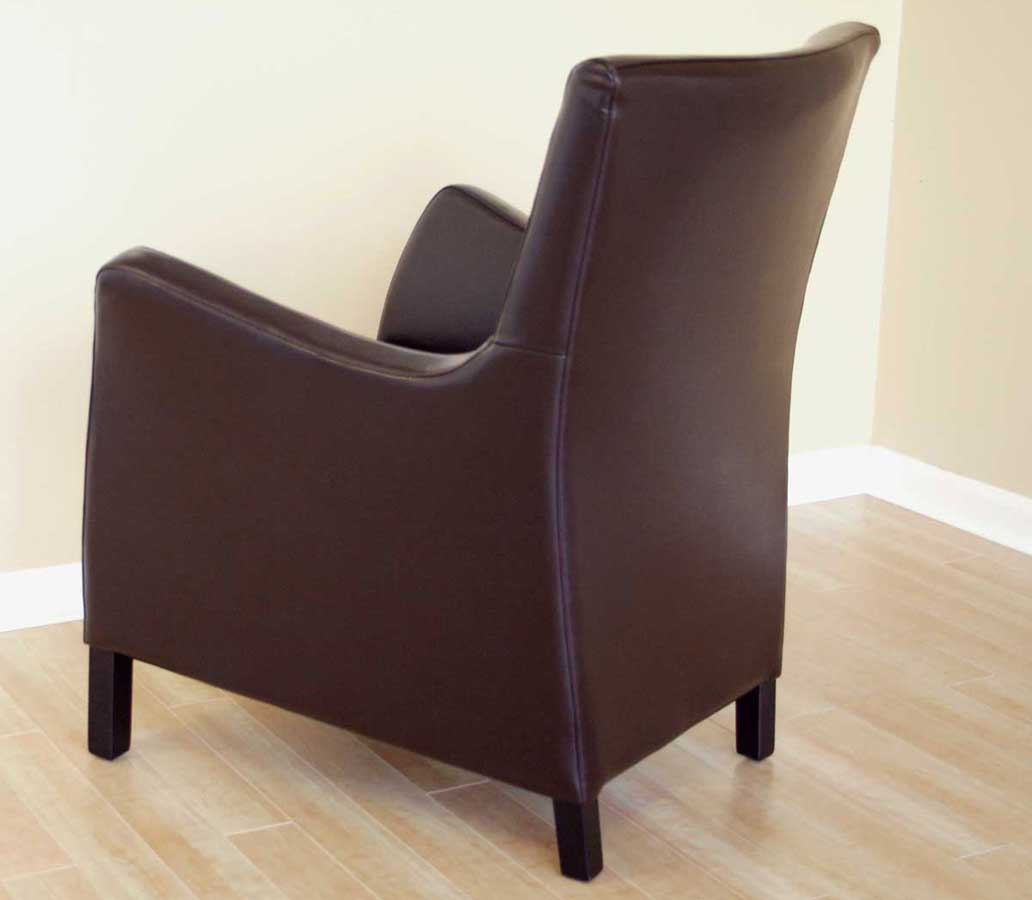 Wholesale Interiors 0560 Full Leather Club Chair