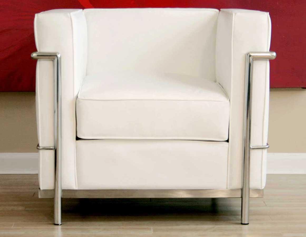Wholesale Interiors 610 Le Corbusier Chair - White