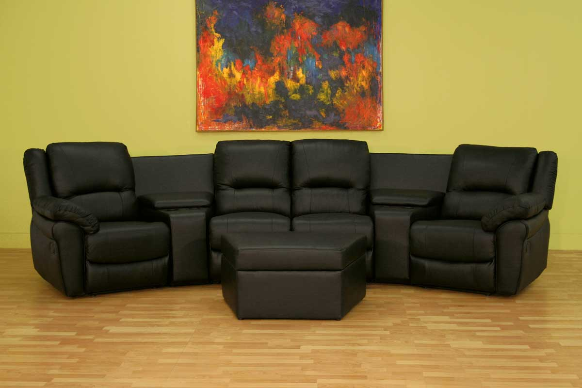 Wholesale Interiors 8327 Home Theater Seat Curved Row
