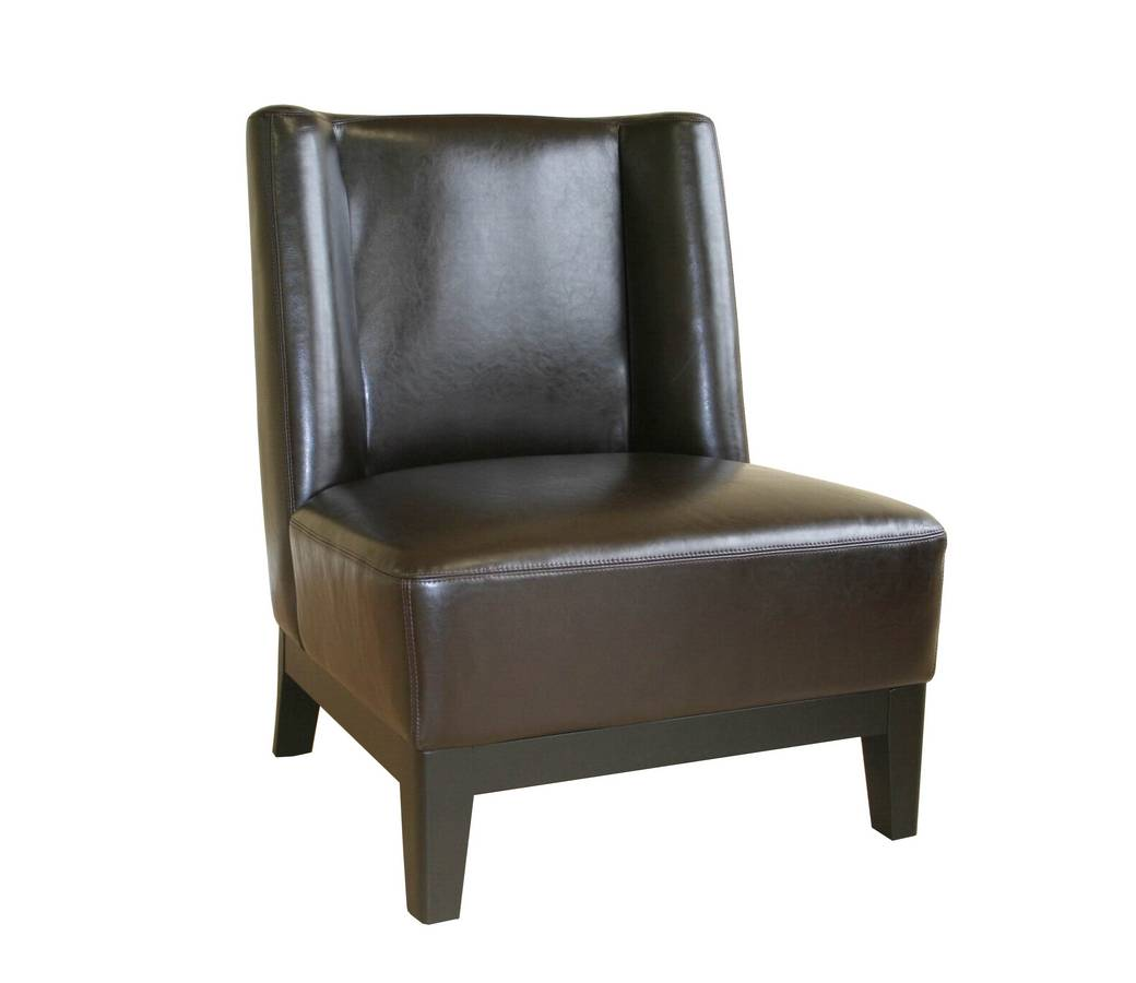 Wholesale Interiors A-179-J001 Full Leather Club Chair