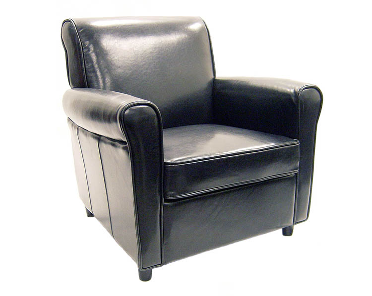 Wholesale Interiors A-75 Full Leather Club Chair