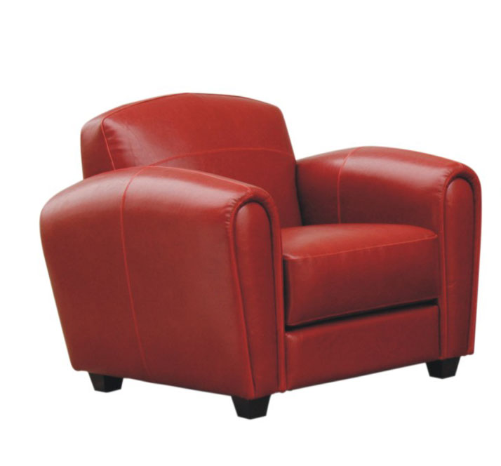 Cheap Wholesale Interiors A3007-Chair Full Leather Chair