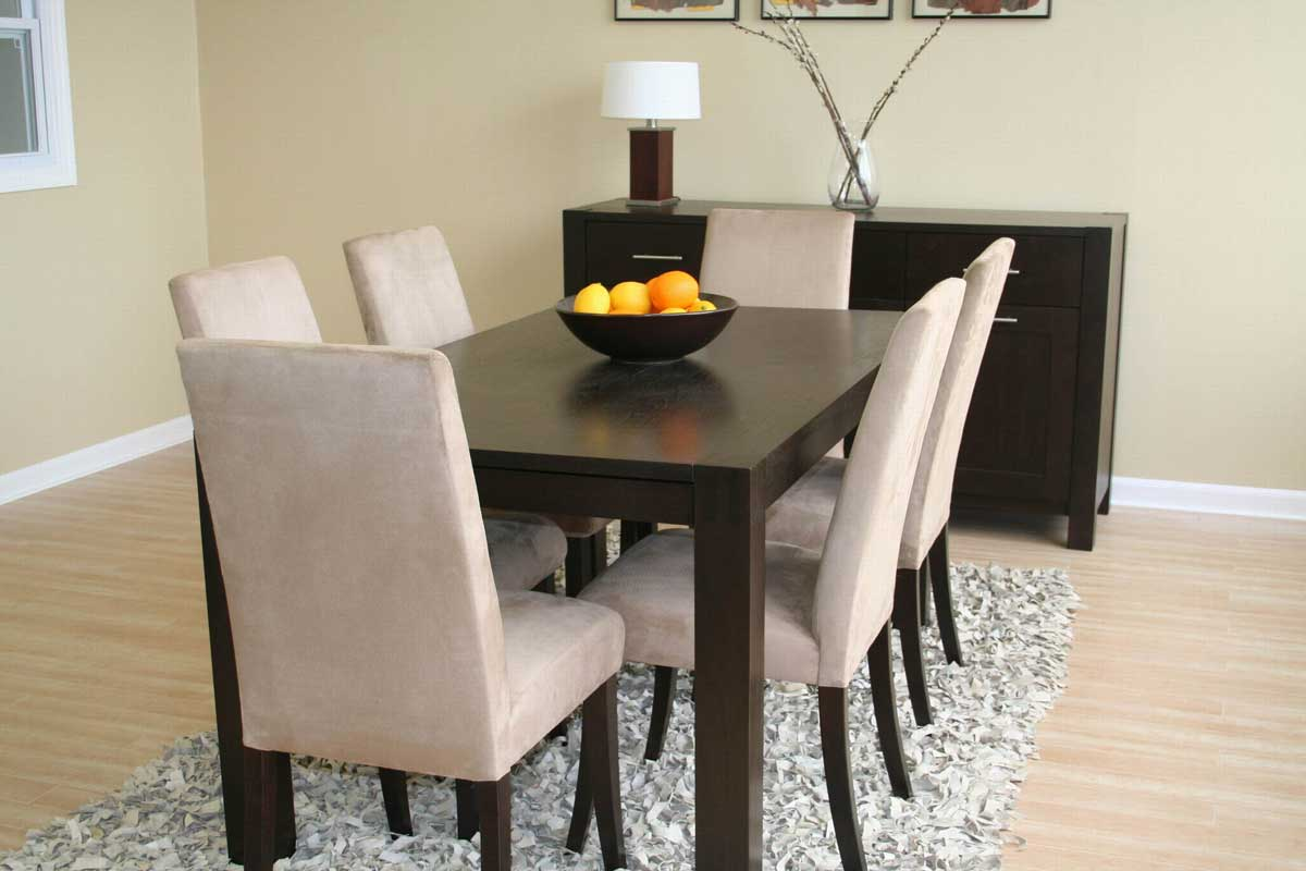 Wholesale Interiors Tessa Wenge Dining Set
