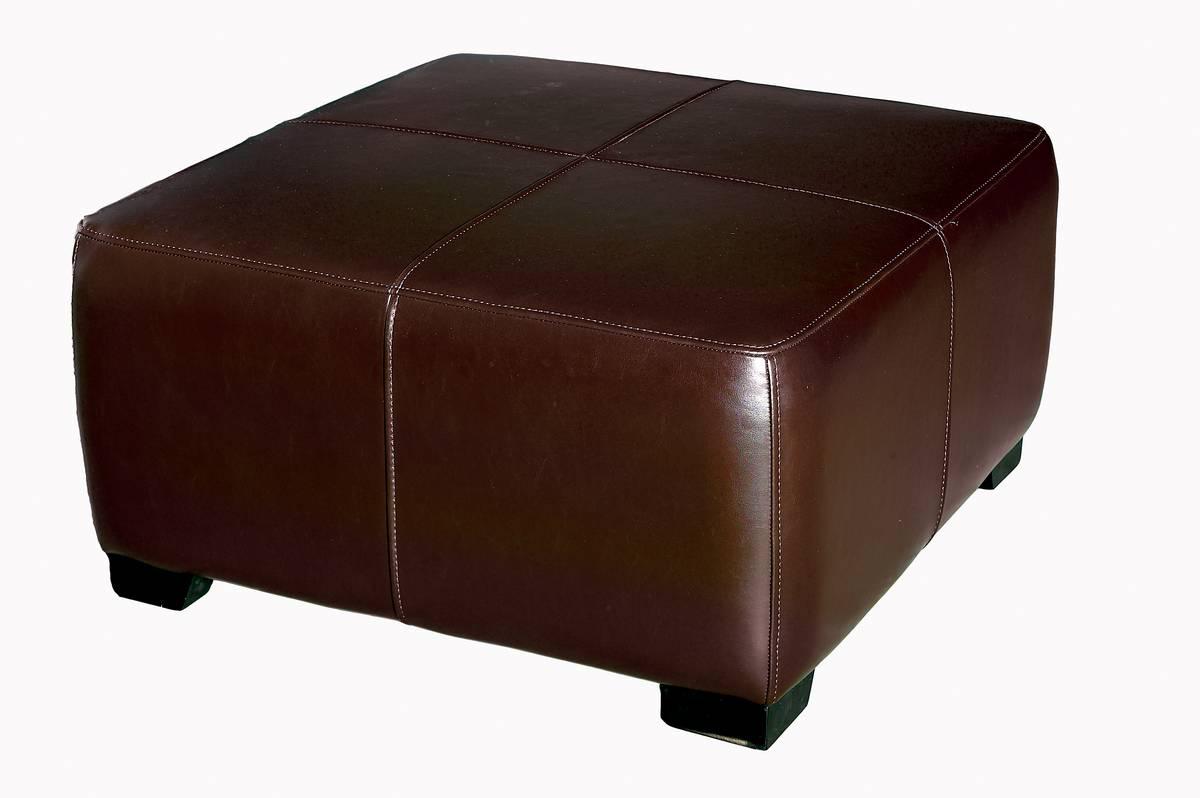 Cheap Wholesale Interiors OMY-052 Full Leather Ottoman