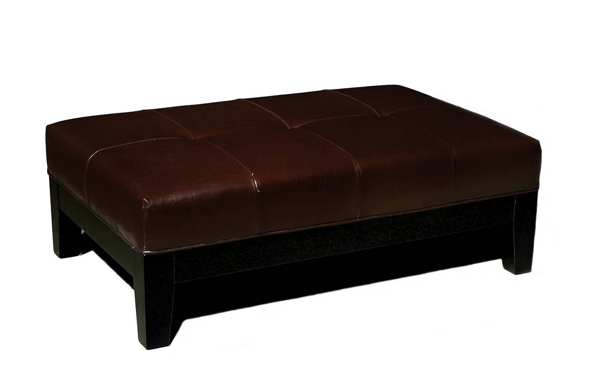 Cheap Wholesale Interiors OMY-192 Full Leather Storage Ottoman Bench