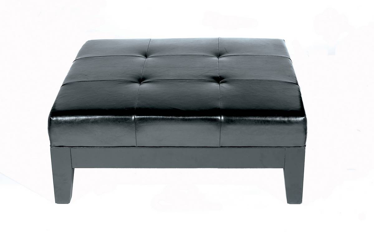 Cheap Wholesale Interiors OMY-195 Full Leather Cocktail Ottoman
