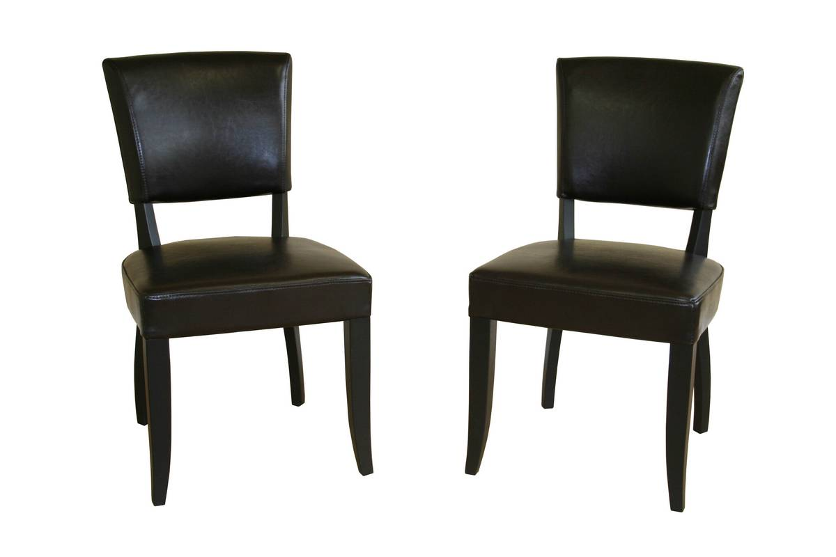Wholesale interiors y 135 dining chair buy dining room for Cheap leather chairs