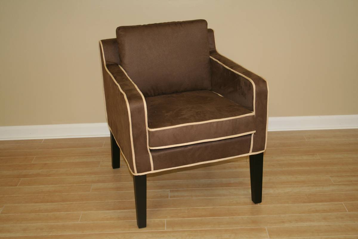 Wholesale Interiors Y-222-CV-4 Micro Fiber Club Chair