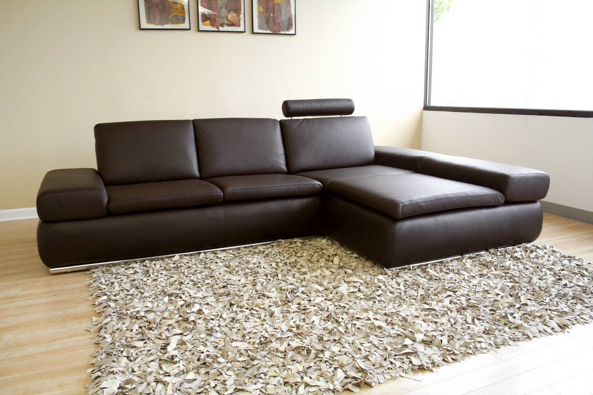 Buy Wholesale Interiors Champagne Leather Sectional Recliner Online Confidently