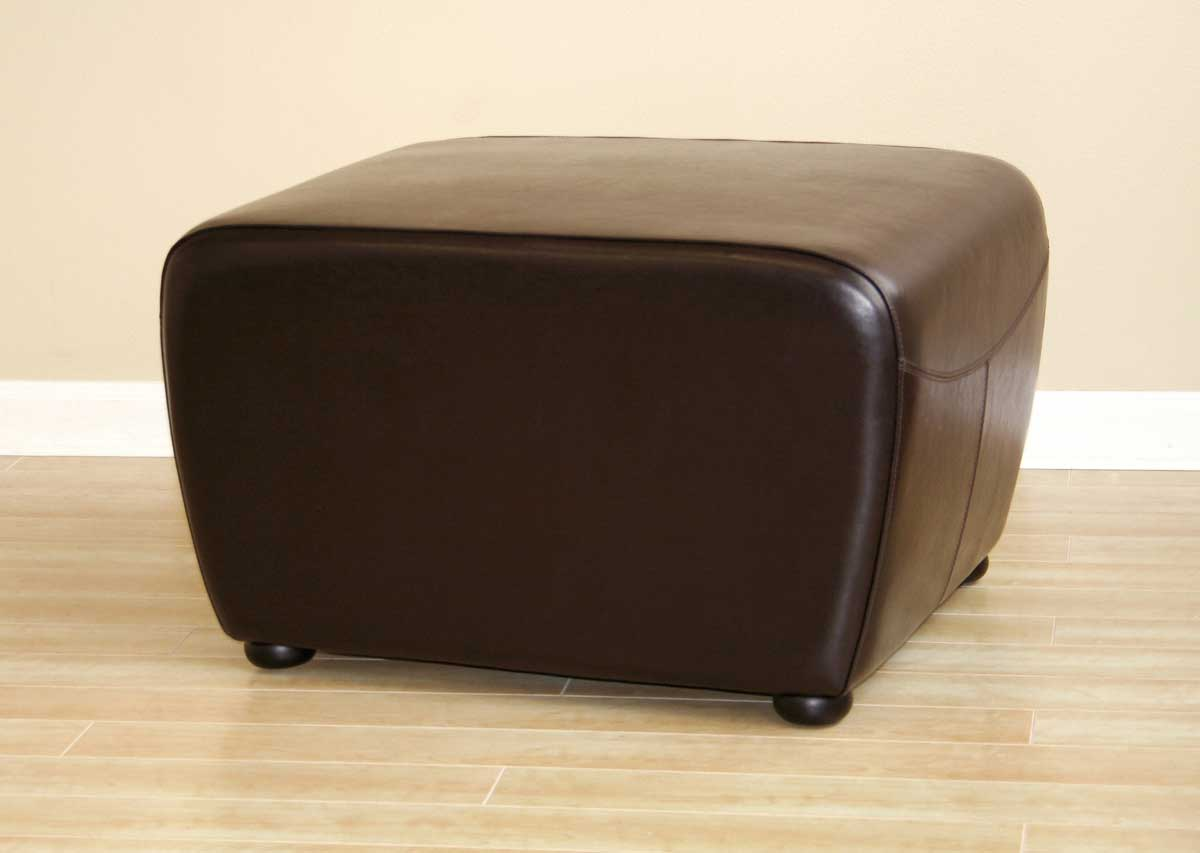 Wholesale Interiors Y-051 Leather Ottoman