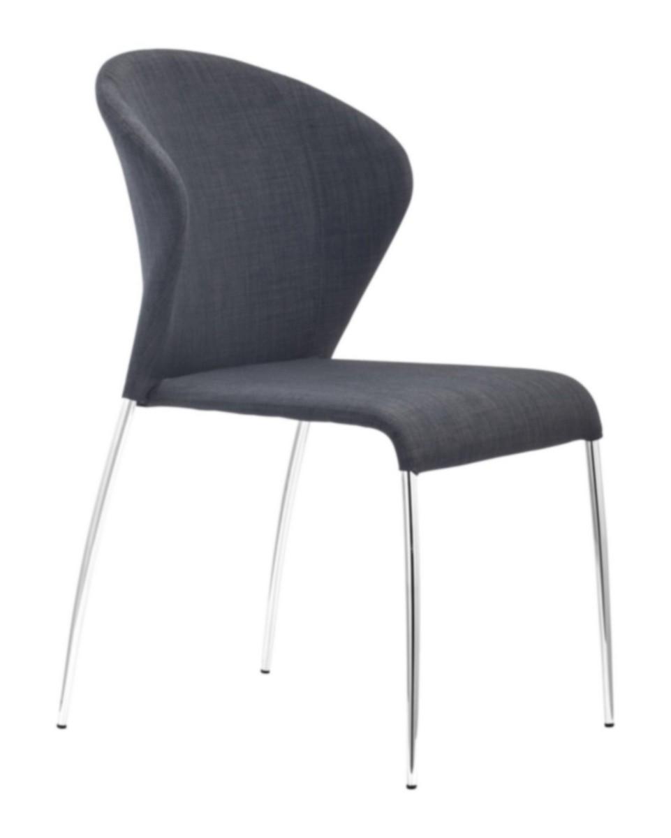 Zuo Modern Oulu Dining Chair - Graphite