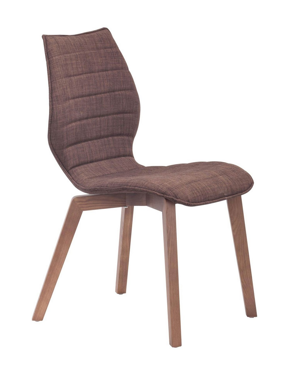 Zuo Modern Aalborg Dining Chair - Tobacco
