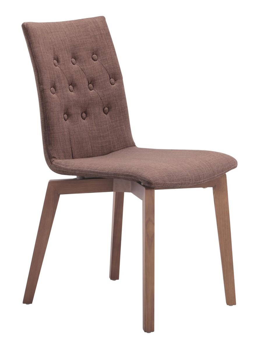 Zuo Modern Orebro Dining Chair - Tobacco