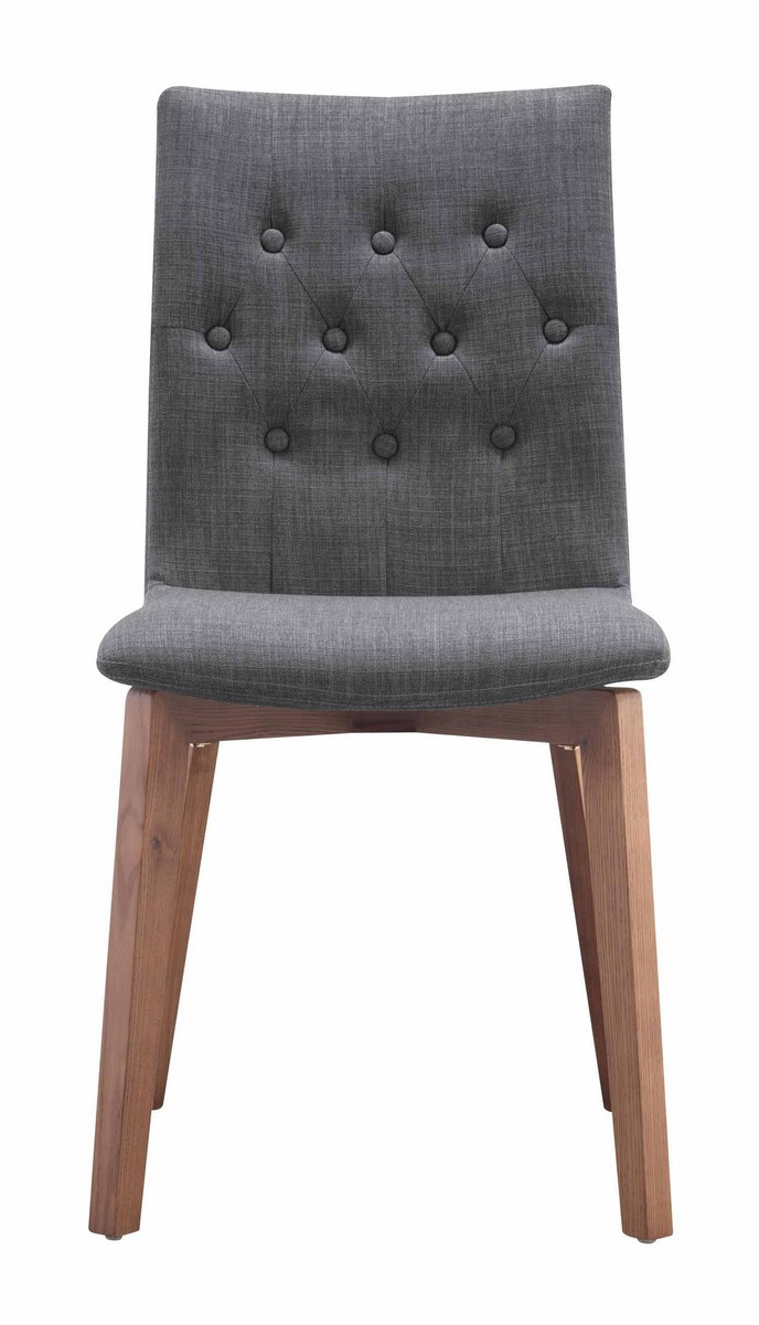Zuo Modern Orebro Dining Chair - Graphite