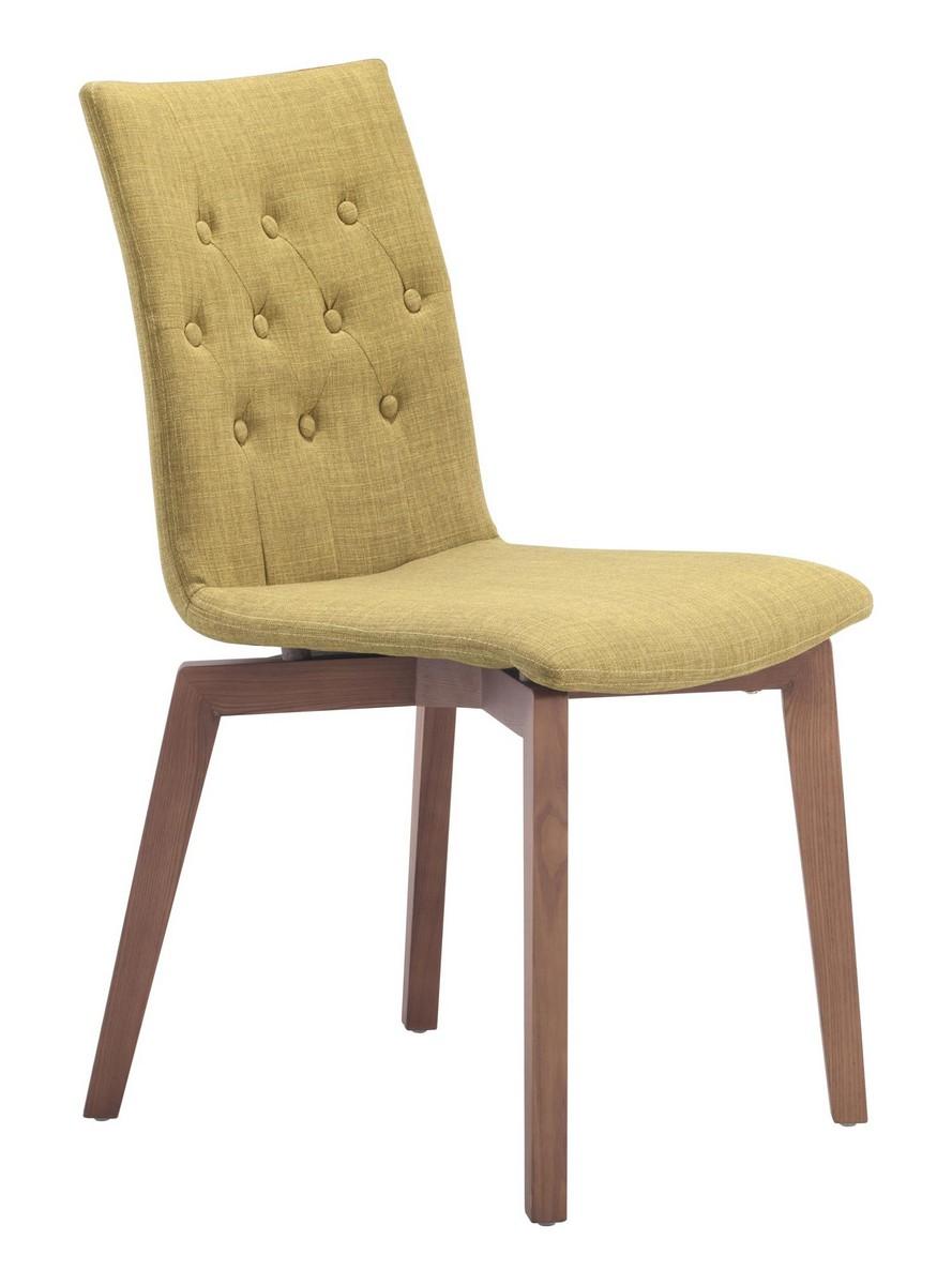 Zuo Modern Orebro Dining Chair - Pea