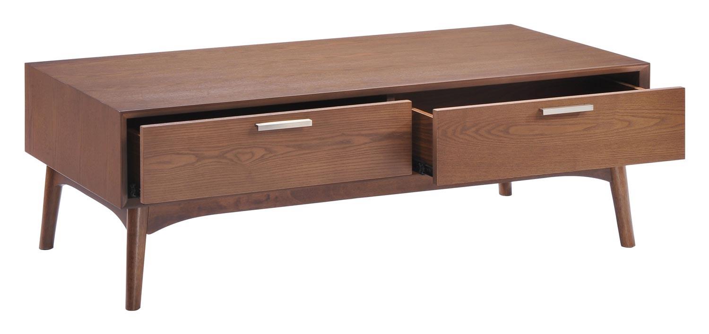 Zuo Modern Design District Coffee Table - Walnut