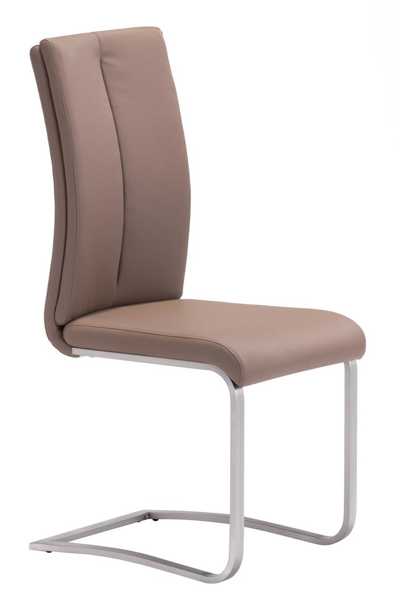 Zuo Modern Rosemont Dining Chair - Coffee