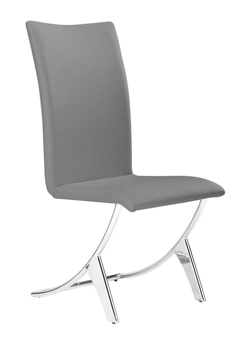 Zuo Modern Delfin Dining Chair - Gray