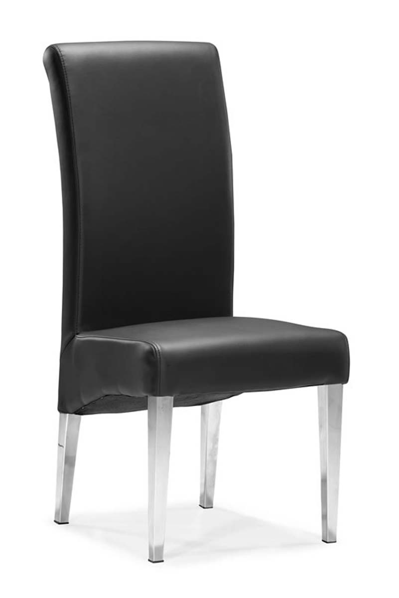 Zuo Modern Pencil Dining Chair - Black 102285