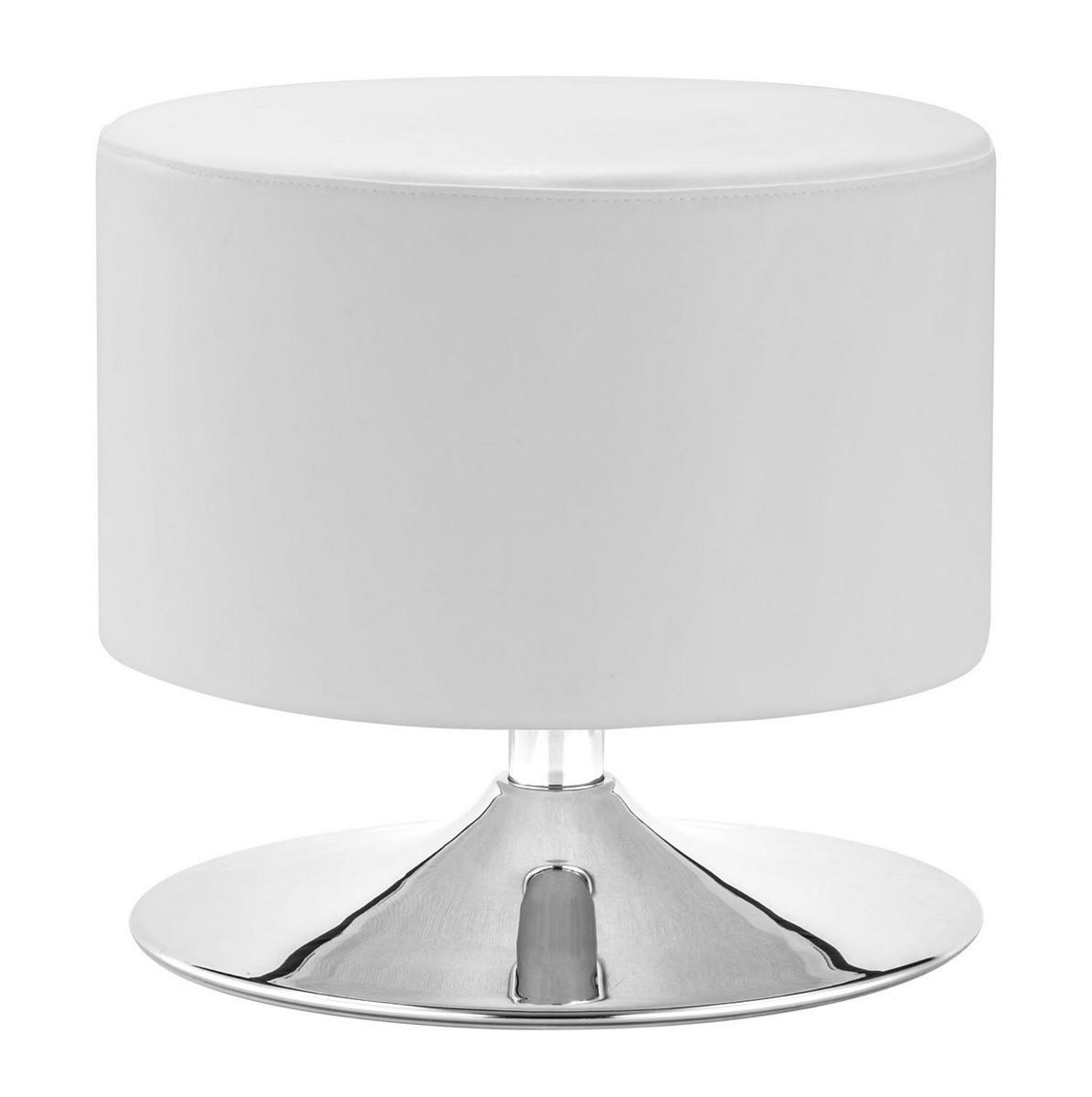 Zuo Modern Plump Ottoman - White
