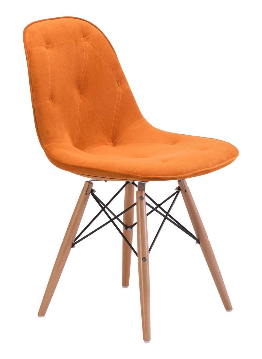 Zuo Modern Probability Dining Chair - Orange