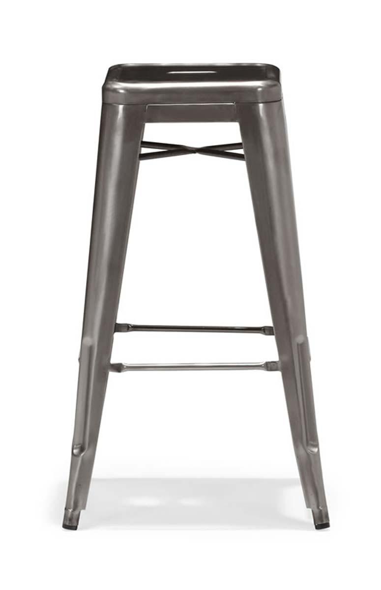 Zuo Modern Marius Bar Chair - Gunmetal