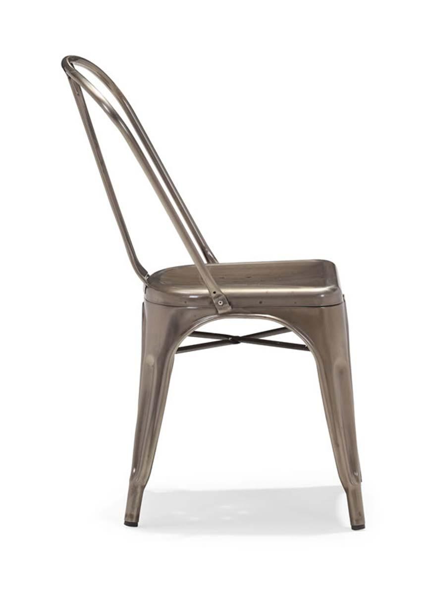 Zuo Modern Elio Dining Chair - Gunmetal