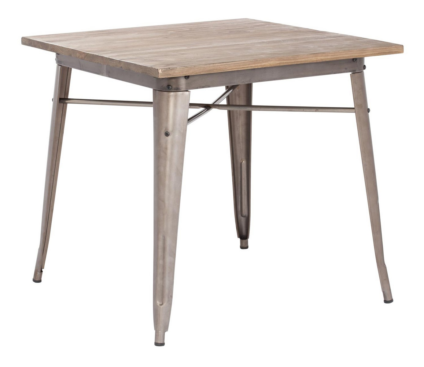 Zuo Modern Titus Dining Table - Rustic Wood